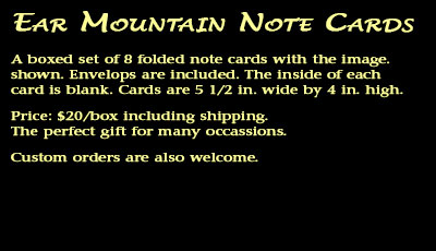 Description of Front Range Note Cards